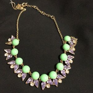 JCREW bubble necklace